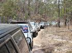 4WD club celebrates Australia Day in the bush
