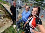 BEC Nilon got the worst kind of welcome to her new Rockonia Rd home when Cyclone Marcia hit.
