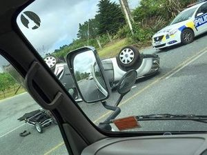 Baby injured in crash as mother fled police in NZ