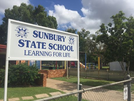 There has been a suspected bomb threat at Sunbury State School in Maryborough