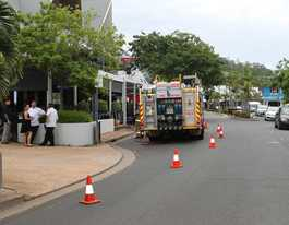 Kitchen fire in Airlie Beach