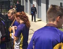 Students return to class following bomb threat