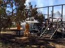 Fire destroys home in Wallumbilla