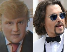 Johnny Depp in Donald Trump spoof film