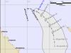 Tracking map for Tropical Cyclone Tatiana.
