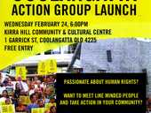 Passionate about human rights? Want to meet like minded people and take action in your community? Then come to our very first meeting!
