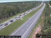 A CAR has rolled and two others have crashed in an incident on the Bruce Highway between Elimbah and Beerburrum.