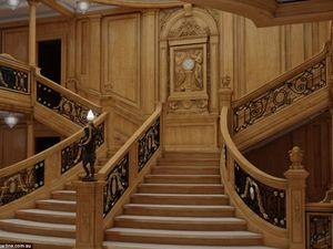 New images compare new Titanic's interior with original's