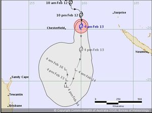 Cyclone Tatiana forms overnight in Category 1, moving slowly