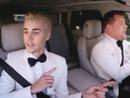 Justin Bieber Sings Uptown Funk in Car Karaoke