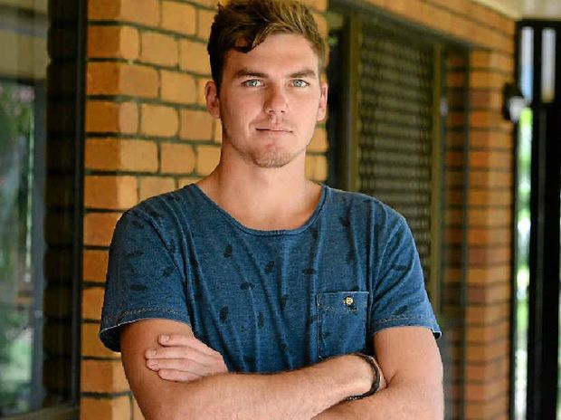 DISAPPOINTED SAILOR: Clayton Searle is leading a lawsuit, along with 200 other sailors, against the Australian Navy after completing five years of service and not receiving a Cert IIII in Engineering as allegedly mentioned in his contract. INSET: Clayton performing his duties.