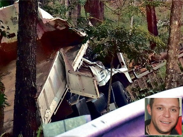 Palmwoods man Dave Homes will be remembered as a hero after dying in a crash at Woombye.