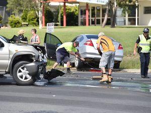 Traffic crash Urraween Rd