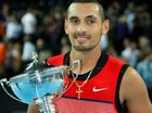Nick Kyrgios served his way to a maiden ATP Tour victory in Marseille, downing 2014 US Open champion Marin Cilic 6-2 7-6 in the final.