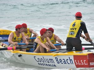 Action aplenty as surf boats return