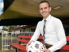BUILDING: Football Maryborough president Daniel Sanderson wants to see football continue to grow in the Heritage City.