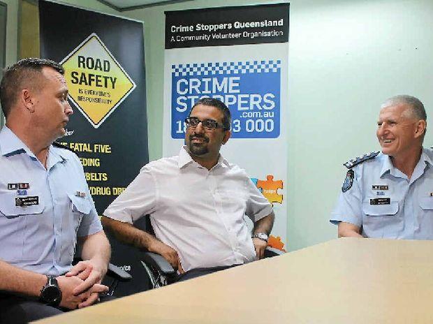 SOLUTIONS: Security and Counter Terrorism Group's Senior Sergeant John Kilburn, Islamic Council of Queensland spokesman Hamza Vayani and Mackay District Police Inspector Ian Houghton discuss the Queensland Police approach to counter-terrorism.