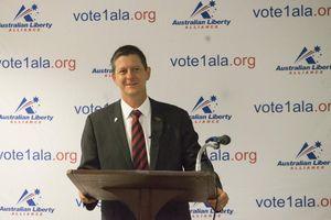 Australian Liberty Alliance candidate Bernie Gaynor.