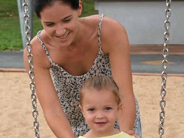 PETITION PRESSURE: Rockhampton mum Chantelle Honeyman is hoping a petition will help her daughter Victoria Evans gain access to a drug for children with cystic fibrosis.