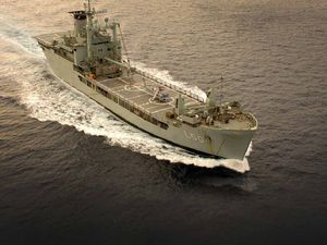 Wide Bay ready to battle Tasmanians over HMAS Tobruk