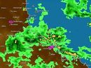 UPDATE NOON: Higgins Storm Chasers have warned Rockhampton, Yeppoon and Gladstone could cop another 100mm in the next 24 hours.
