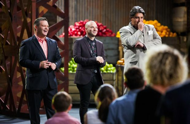 MasterChef Australia judge Gary Mehigan (left) is an ambassador for Australia's Biggest Morning Tea. Supplied by Channel 10.