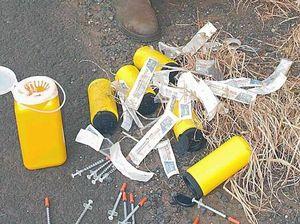 Syringe dumping ground disgusts volunteers