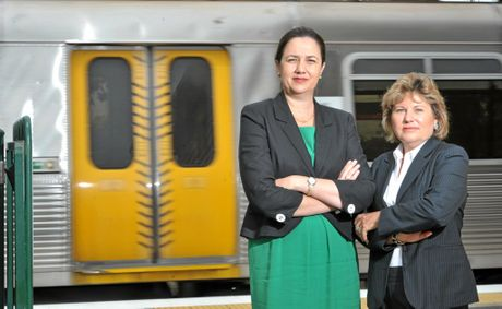 PremierAnnastacia Palaszczuk and Member for Bundamba Jo-Ann Miller.