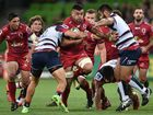 The Queensland Reds will go into next Saturday's Super Rugby clash with the Blues at Suncorp Stadium in a better frame of mind after pushing the Rebels all the way in Melbourne.