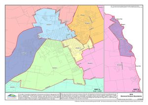 ELECTION 2016: Bundaberg electoral division boundaries. Photo Bundaberg Regional Council