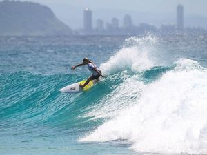 Andrew makes an impact at Roxy Pro