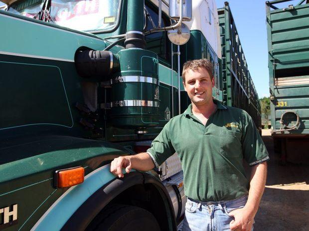 Alister Clarke, manager of Frasers Livestock Transport in Gracemere. Photo Kelly Butterworth / Rockhampton Morning Bulletin