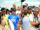 LENNOX Head surfer Stuart Kennedy didn't make it to the Quiksilver Pro finals today, but he has secured a prestigious position on the World Surf League ladder