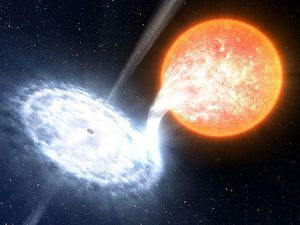 Black hole 'eruptions' burn as bright as 1000 suns