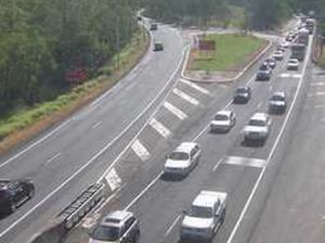 Crash on Toowoomba Range causes long delays