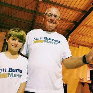 Thumbnail for BREAKING: Matt Burnett has declared victory