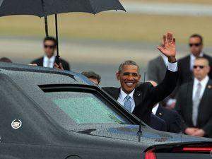 Obama lands in Cuba to begin historic visit