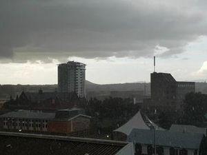 Storm hits Ipswich