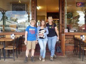 Crikey! Bindi, Robert and Terri spotted in Blackbutt