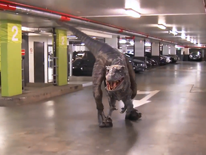 Jurassic Carpark with Hamish and Andy