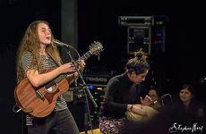 EUROPEAN JOURNEY: Tullara Connors performing at the Umefolk festival in Sweden.