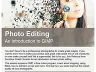 An introduction to GIMP