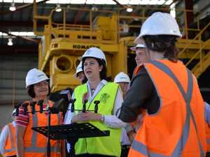 The Premier will be visiting Townsville to announce 'good news'