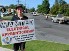 WHILE most school students were out enjoying the Easter holidays, 15-year-old Rhys Murray-Craddock turned his attention to finding a job.
