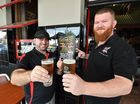 Maryborough Pubfest - (L) Brendan Heit (owner Criterion) and Gavan Chin (owner Federal) gearing up for Pubfest. Photo: Alistair Brightman / Fraser Coast Chronicle