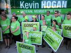 GONSKI supporters rallied outside Member for Page Kevin Hogan's office to pass on a message to Prime Minister Malcolm Turnbull.
