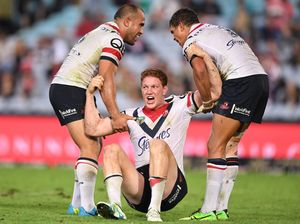 Dylan Napa defence helps Roosters to win v Rabbitoh rivals