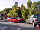Crash causes delays on Sunshine Mwy