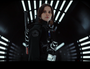 Felicity Jones in a scene from the movie Rogue One: A Star Wars Story.