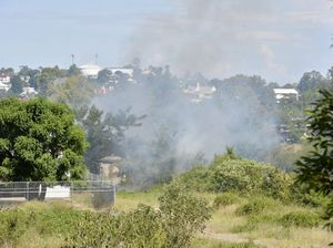 Grass fire in North Ipswich